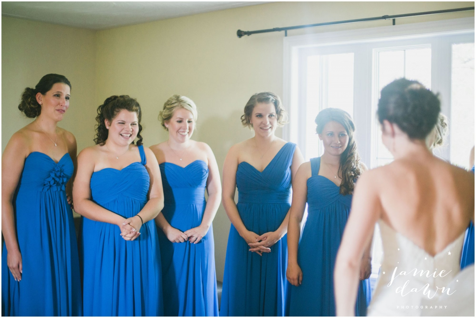 9985798ec37 Wedding Dress + Bridesmaids  Lindgrens Bridal and Boutique in Sudbury  Groom+Groomsmen  Steinburg and Mahn Photography  Jamie Dawn Photography  Flowers  ...